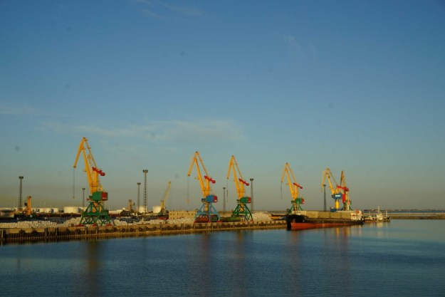 Port of Aktau, Kazakhstan
