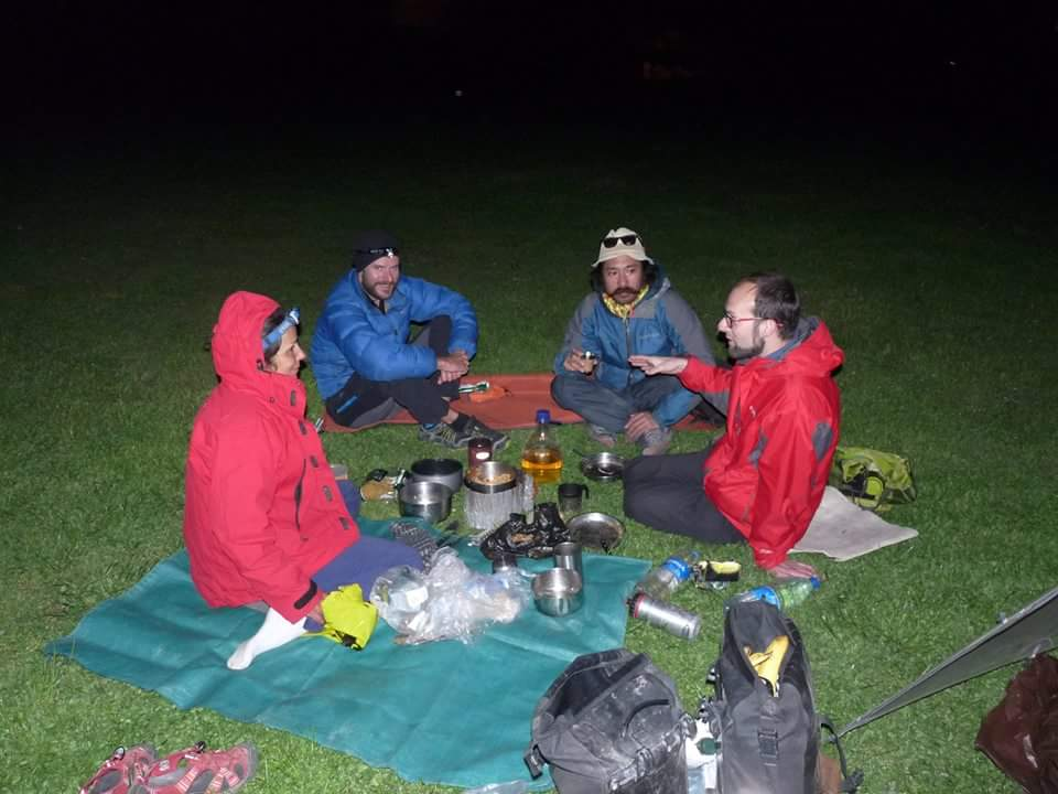 Camping in Khulo with Patricia, Zono & John. Photo credit: O.Ratero