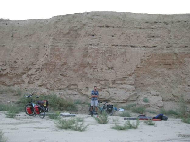 Another early start, between Baysun and Denau, Uzbekistan. Photo credit: R.Holtman