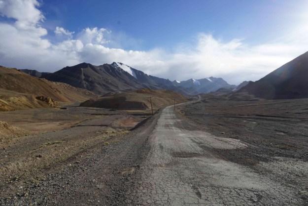 Working my way up the Ak Baital pass