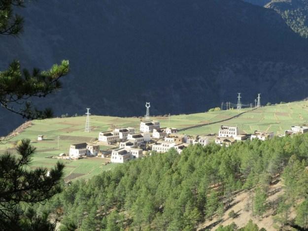 Tibetan village near Shagongxiang, Sichuan
