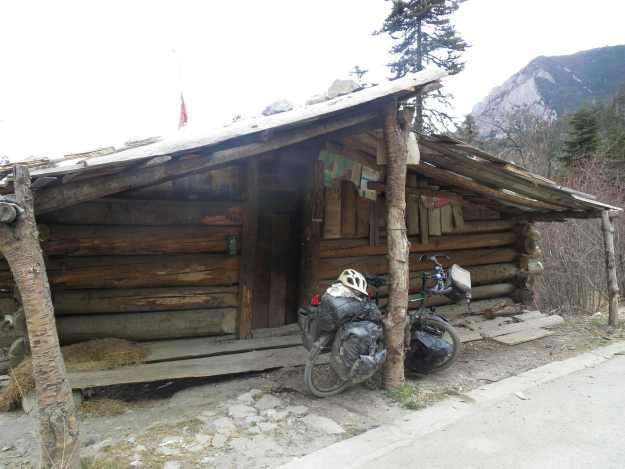 The three bears' cabin