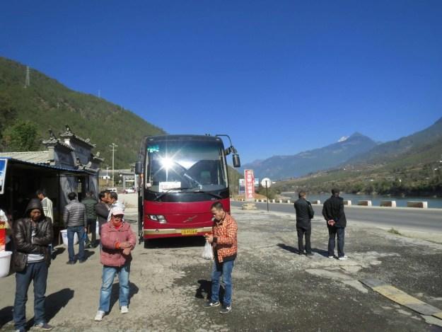 Bus from Shangri La to Kunming