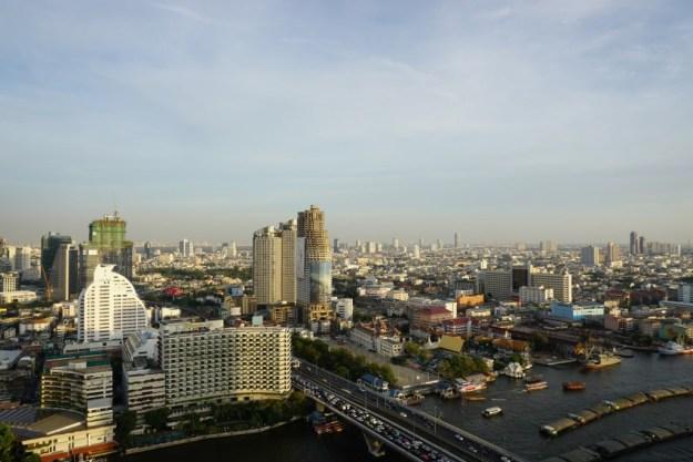 View from Ben & Nee's apartment, Bangkok