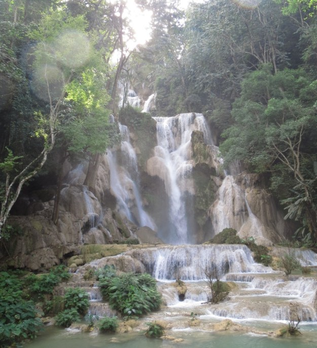 Kuang Si waterfall, near Luang Prabang