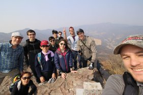 On some random hill with Busan hiking group. Photo: L.Warner