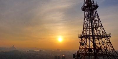 Seoul sunset from Namsan