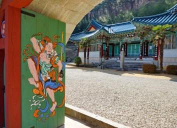 Temple on Mireuksan, South Gyeongsang Province.