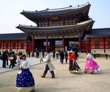 Gates of Gyeongbokgung Palace, Seoul