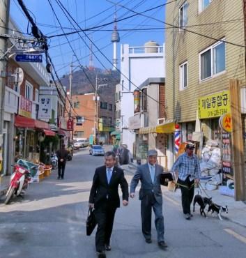 Namsan, Seoul.