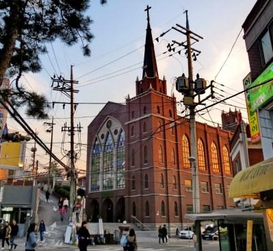 Church in Itaewon