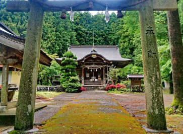 Roadside shrine, southern Honshu