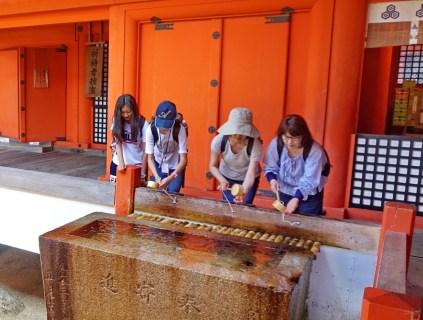 Ritual handwashing
