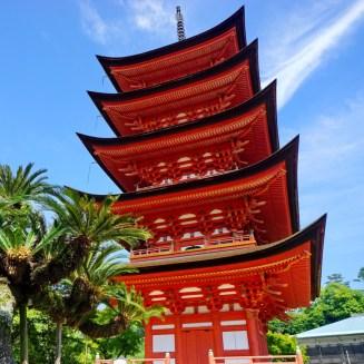 Toyokuni pagoda, Miyajima