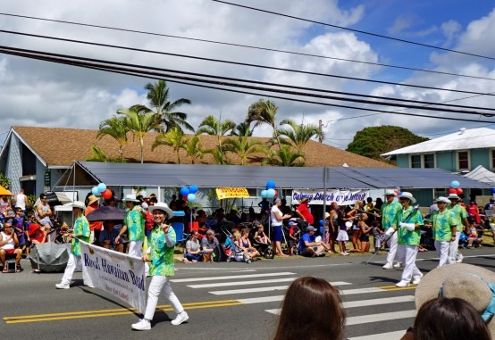 4th July, USA Independence Day parade in Kailua