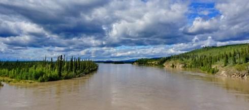 Tanana River, east of Tok