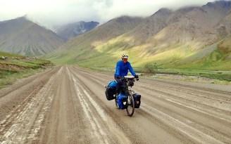 Into the muck on the Atigun Pass. Photo: A.Hughes
