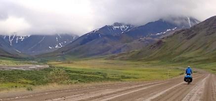 Coming up to the Atigun Pass on the Dalton Highway. Photo: A.Hughes
