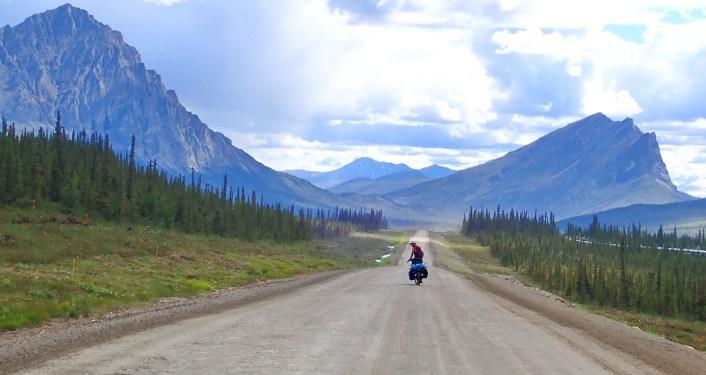Approaching Sukakpak Mountain, southern edge of the Brook Range. Photo: A.Hughes