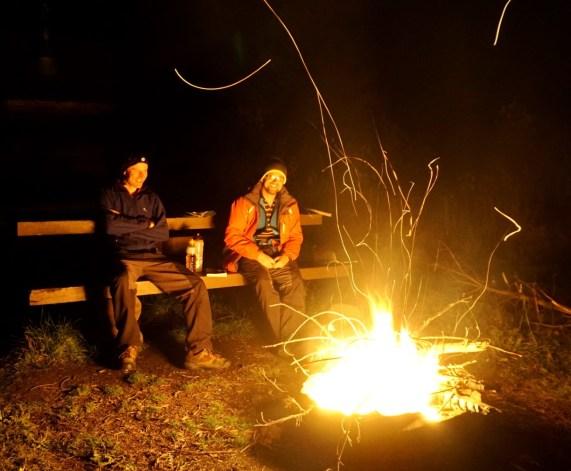 Camping at Tobermory Cabin, Elk Valley