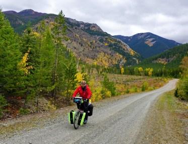 Steve on Cabin Pass, Flathead Valley