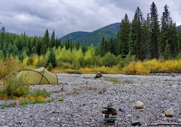 Riverside camping, Ram Wigwam.