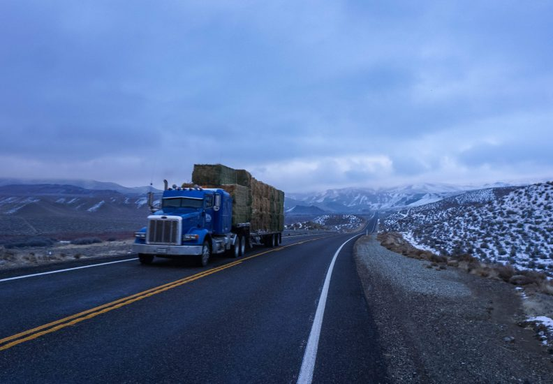 On Highway 95 near Hawthorne Nevada
