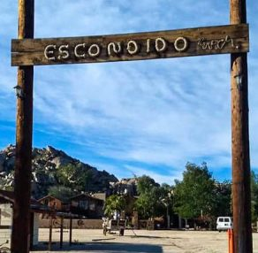Escondido by name and by nature.