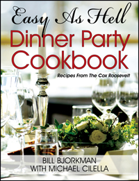 """Easy as Hell Dinner Party Cookbook"""