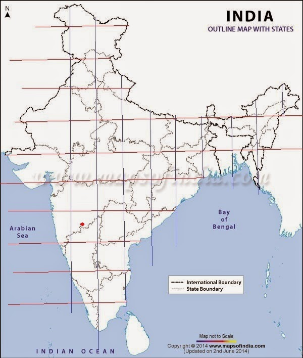 INDIAN HISTORY THROUGH MAP PARTS HISTORY AND GENERAL STUDIES - Solapur map