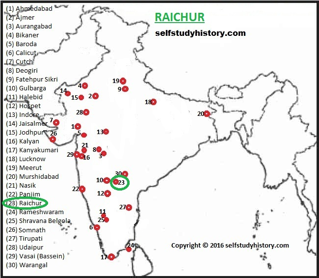 INDIAN HISTORY THROUGH MAP PARTR HISTORY AND GENERAL STUDIES