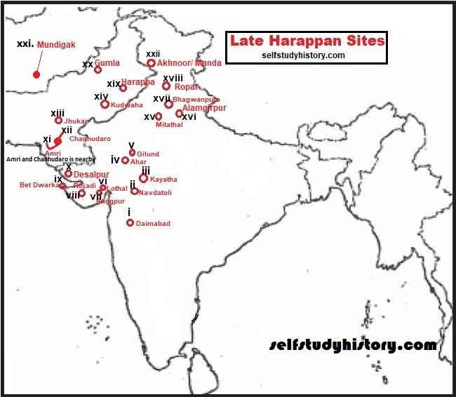 Late Harappan Sites
