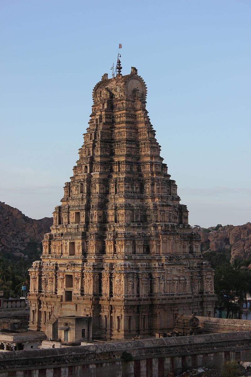Virupaksha temple raya gopuram