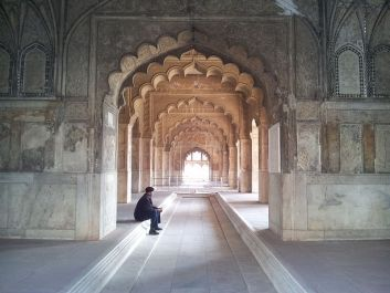 The_lone_sentry_of_Rang_Mahal