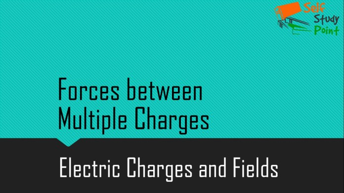Forces between Multiple Charges