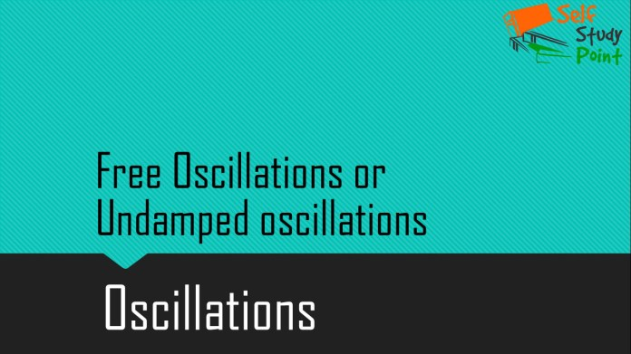 Free Oscillations or Undamped oscillations