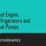 Heat Engine ,Refrigerators and Heat Pumps