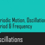 Periodic Motion, Oscillations, Period & Frequency