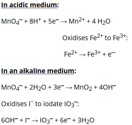 Uses ofPotassium Permanganate