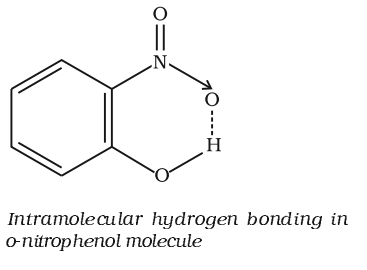 Intramolecular H-bonding