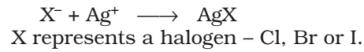 Test for Halogens