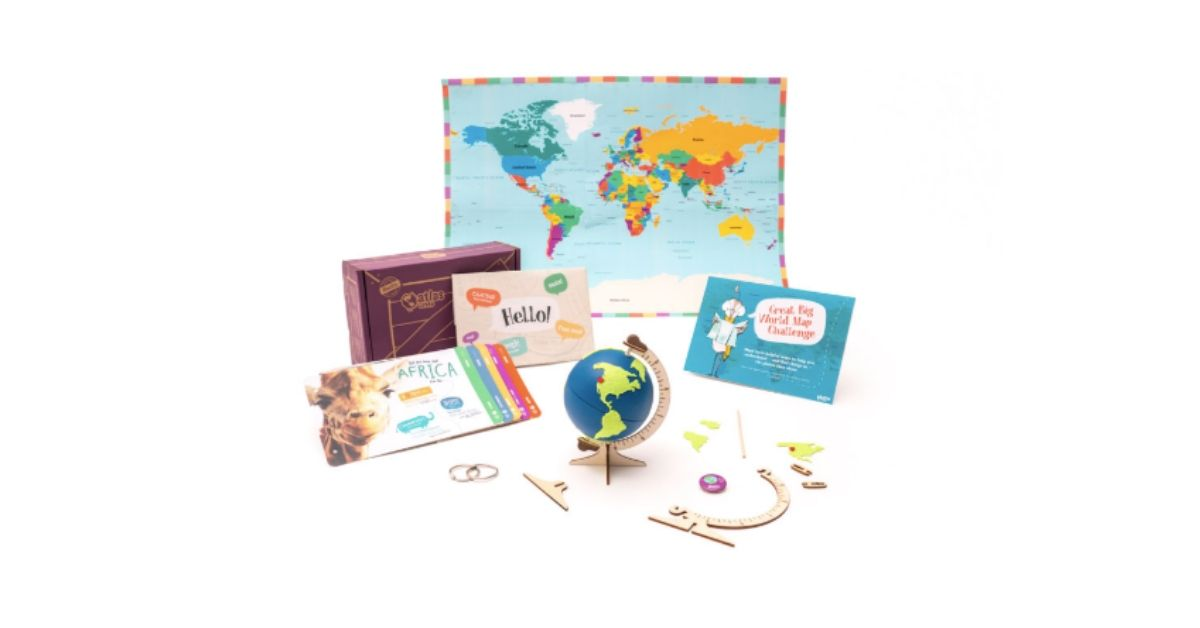 Atlas Crate subscription box for kids