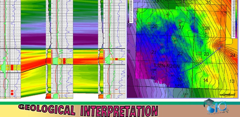 Geological interpretation using software
