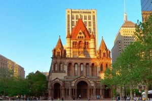 Trinity Church in the City of Boston