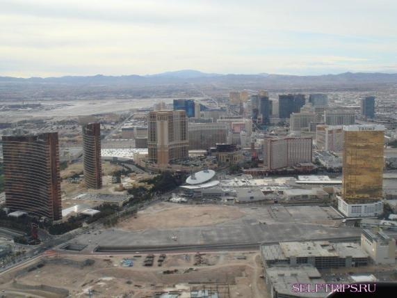 Las Vegas from the helicopter