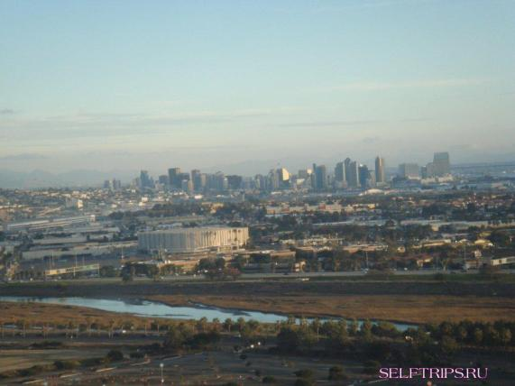 View of San Diego from SeaWorld theme Park