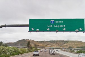 Сан-диего - Лос-анджелес на машине.