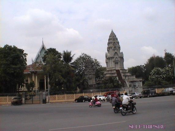 Достопримечательности Пномпеня.