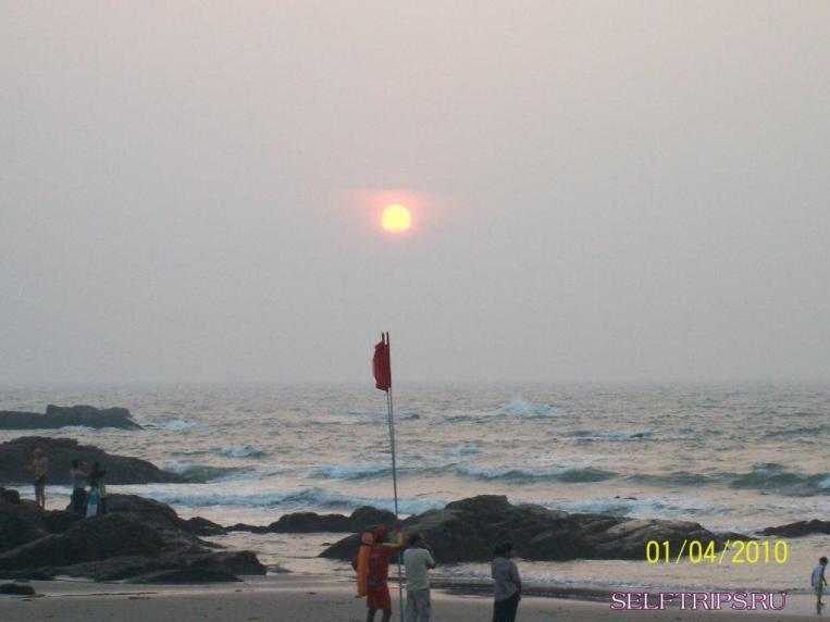Мумбай - Гоа.