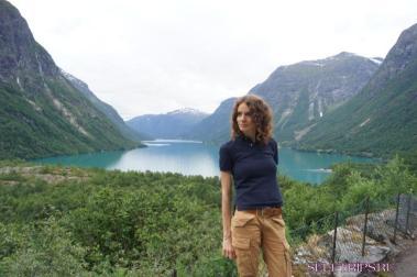 Гора Далснибба, водопад Рамнефьеллсфоссен и ледник Кьенндалсбрин